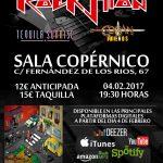 Rockstion, concierto presentación de su primer disco en Madrid y rueda de prensa.